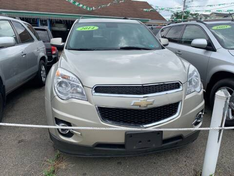2014 Chevrolet Equinox for sale at Park Avenue Auto Lot Inc in Linden NJ