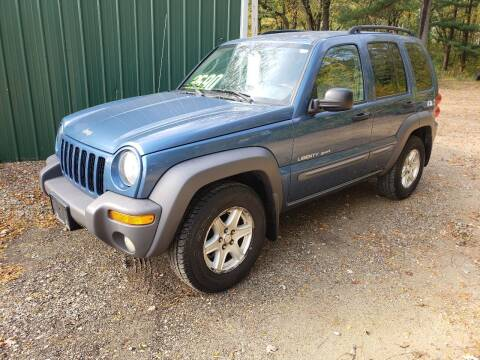 2003 Jeep Liberty for sale at Northwoods Auto & Truck Sales in Machesney Park IL