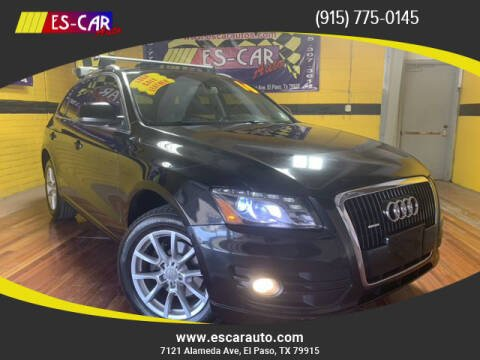 2010 Audi Q5 for sale at Escar Auto in El Paso TX