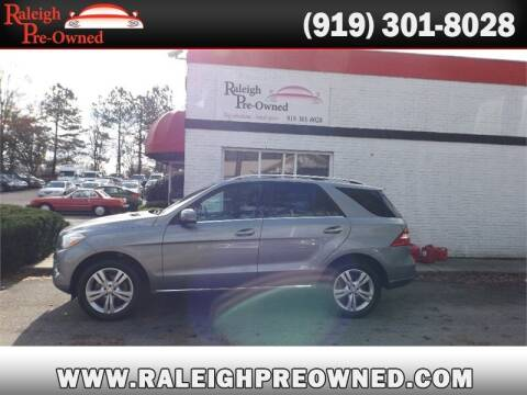 2013 Mercedes-Benz M-Class for sale at Raleigh Pre-Owned in Raleigh NC