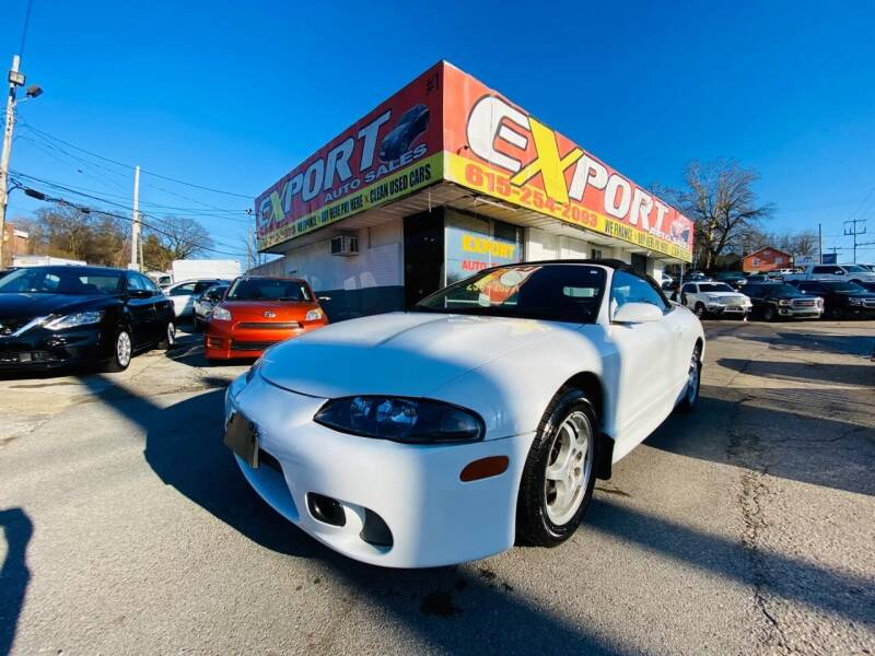 1998 Mitsubishi Eclipse Spyder for sale at EXPORT AUTO SALES, INC. in Nashville TN
