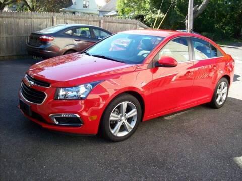 2015 Chevrolet Cruze for sale at De Parle Motors Inc in Bridgeport CT