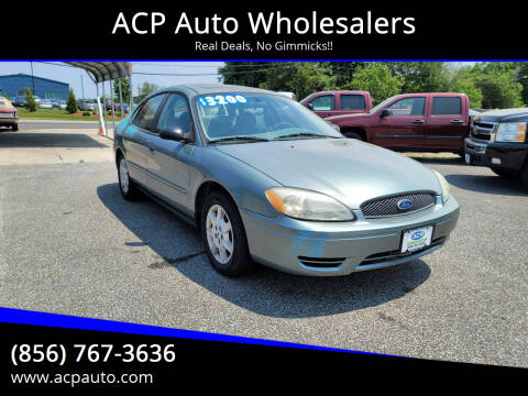 2007 Ford Taurus for sale at ACP Auto Wholesalers in Berlin NJ