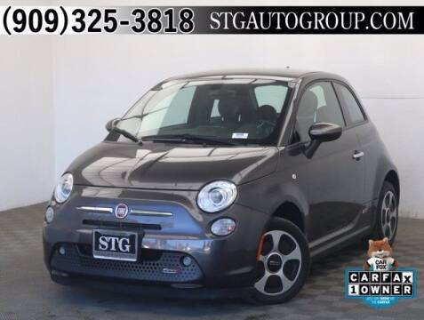 2017 FIAT 500e for sale at STG Auto Group in Montclair CA
