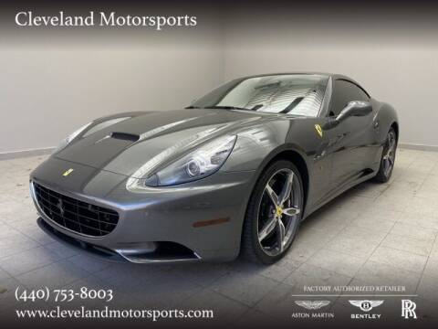 2014 Ferrari California for sale at Drive Options in North Olmsted OH