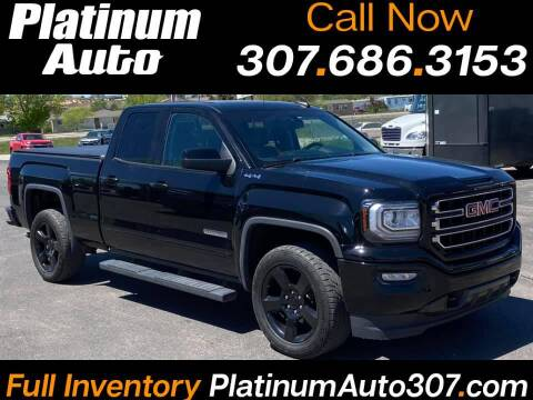 2017 GMC Sierra 1500 for sale at Platinum Auto in Gillette WY