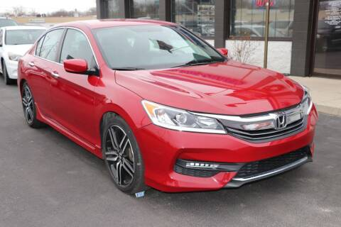 2017 Honda Accord for sale at Ultimate Auto Deals DBA Hernandez Auto Connection in Fort Wayne IN
