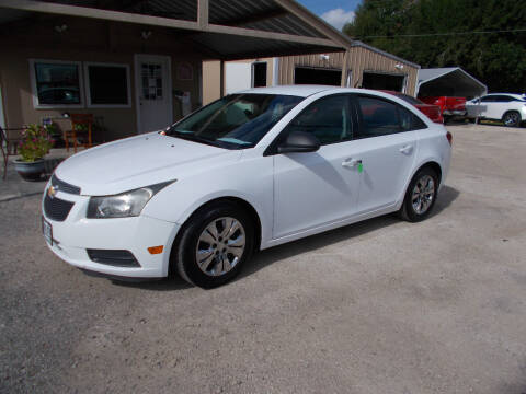2014 Chevrolet Cruze for sale at DISCOUNT AUTOS in Cibolo TX