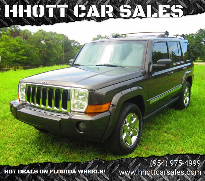 2006 Jeep Commander for sale at HHOTT CAR SALES in Deerfield Beach FL