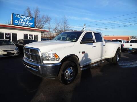 2012 RAM Ram Pickup 3500 for sale at Surfside Auto Company in Norfolk VA