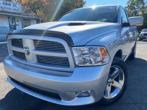 2012 RAM Ram Pickup 1500 for sale at Mega Motors in West Bridgewater MA