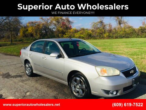 2007 Chevrolet Malibu for sale at Superior Auto Wholesalers in Burlington City NJ