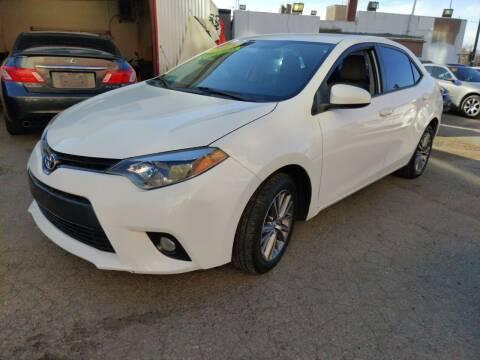 2015 Toyota Corolla for sale at Sanaa Auto Sales LLC in Denver CO