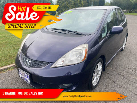 2009 Honda Fit for sale at STRAIGHT MOTOR SALES INC in Paterson NJ