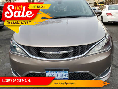 2017 Chrysler Pacifica for sale at LUXURY OF QUEENS,INC in Long Island City NY