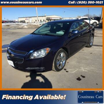 2010 Chevrolet Malibu for sale at CousineauCars.com in Appleton WI