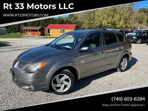 2003 Pontiac Vibe for sale at Rt 33 Motors LLC in Rockbridge OH