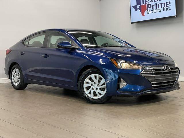 2019 Hyundai Elantra for sale at Texas Prime Motors in Houston TX