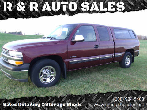 2002 Chevrolet Silverado 1500 for sale at R & R AUTO SALES in Juda WI