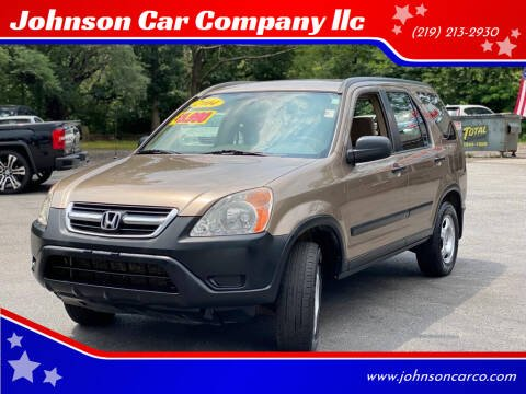 2004 Honda CR-V for sale at Johnson Car Company llc in Crown Point IN