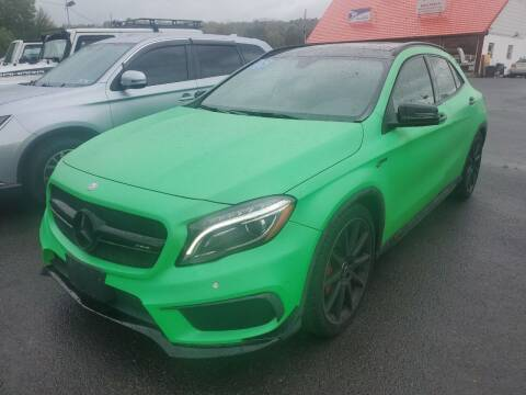 2015 Mercedes-Benz GLA for sale at Mulligan's Auto Exchange LLC in Paxinos PA