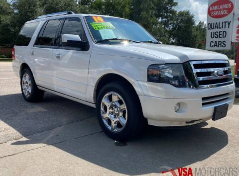 2014 Ford Expedition for sale at VSA MotorCars in Cypress TX