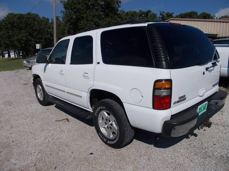 2005 Chevrolet Tahoe for sale at OTTO'S AUTO SALES in Gainesville TX