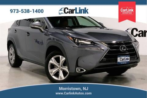 2017 Lexus NX 200t for sale at CarLink in Morristown NJ