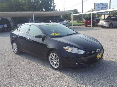 2015 Dodge Dart for sale at Bostick's Auto & Truck Sales in Brownwood TX