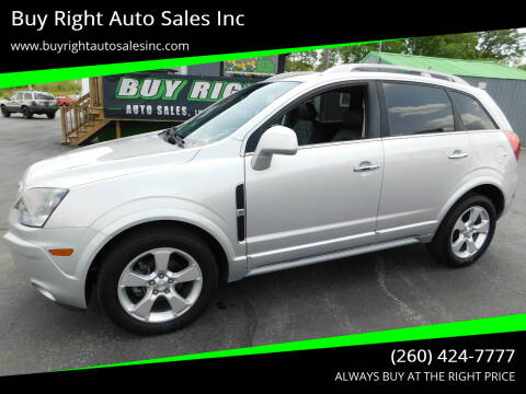 2015 Chevrolet Captiva Sport for sale at Buy Right Auto Sales Inc in Fort Wayne IN