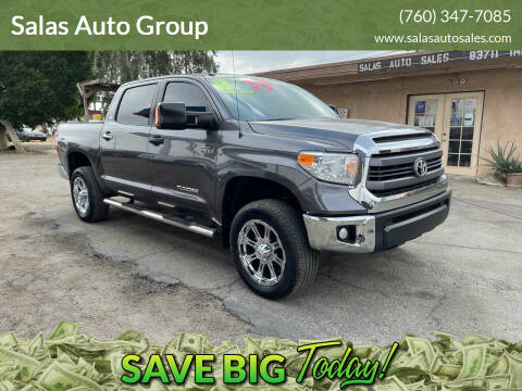 2015 Toyota Tundra for sale at Salas Auto Group in Indio CA