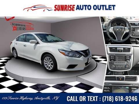 2017 Nissan Altima for sale at Sunrise Auto Outlet in Amityville NY