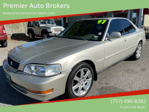 1997 Acura TL for sale at Premier Auto Brokers in Virginia Beach VA