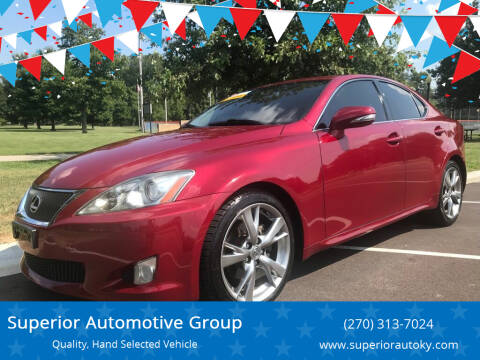 2009 Lexus IS 250 for sale at Superior Automotive Group in Owensboro KY