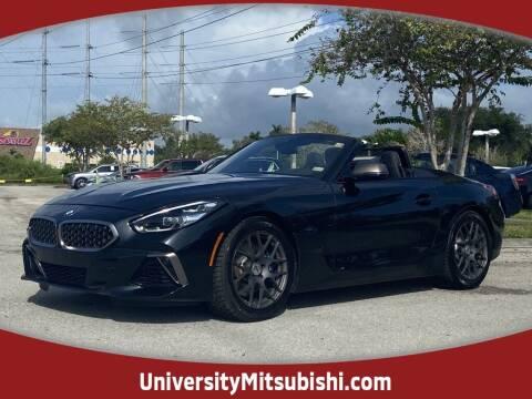 2020 BMW Z4 for sale at FLORIDA DIESEL CENTER in Davie FL
