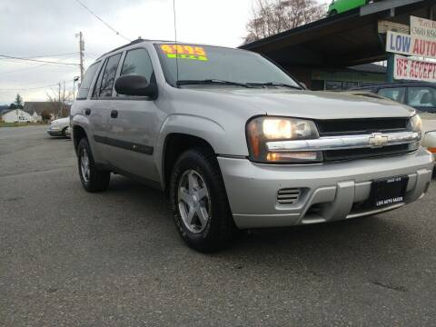 2004 Chevrolet TrailBlazer for sale at Low Auto Sales in Sedro Woolley WA