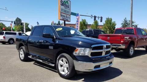 2013 RAM Ram Pickup 1500 for sale at SIERRA AUTO LLC in Salem OR