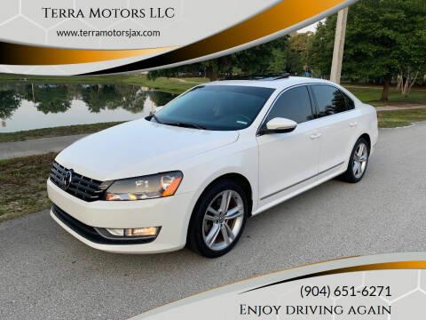 2012 Volkswagen Passat for sale at Terra Motors LLC in Jacksonville FL