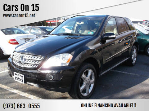 2008 Mercedes-Benz M-Class for sale at Cars On 15 in Lake Hopatcong NJ