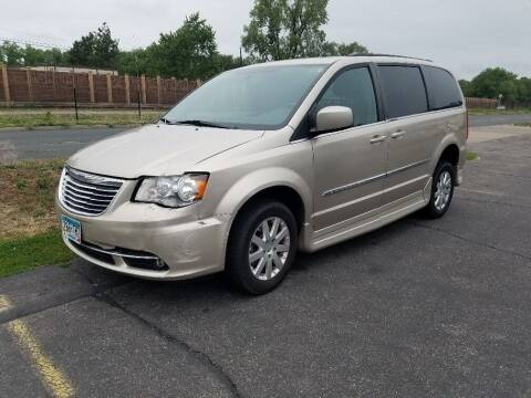 2012 Chrysler Town and Country for sale at Capital Fleet  & Remarketing  Auto Finance in Columbia Heights MN