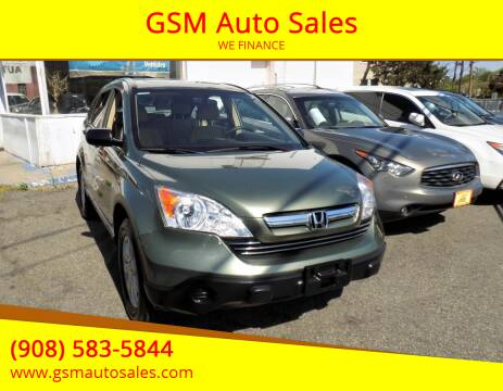 2008 Honda CR-V for sale at GSM Auto Sales in Linden NJ