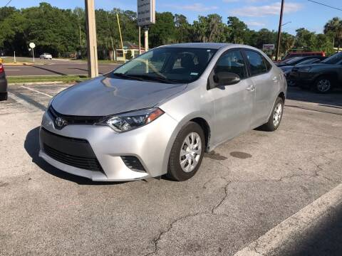2015 Toyota Corolla for sale at Popular Imports Auto Sales in Gainesville FL