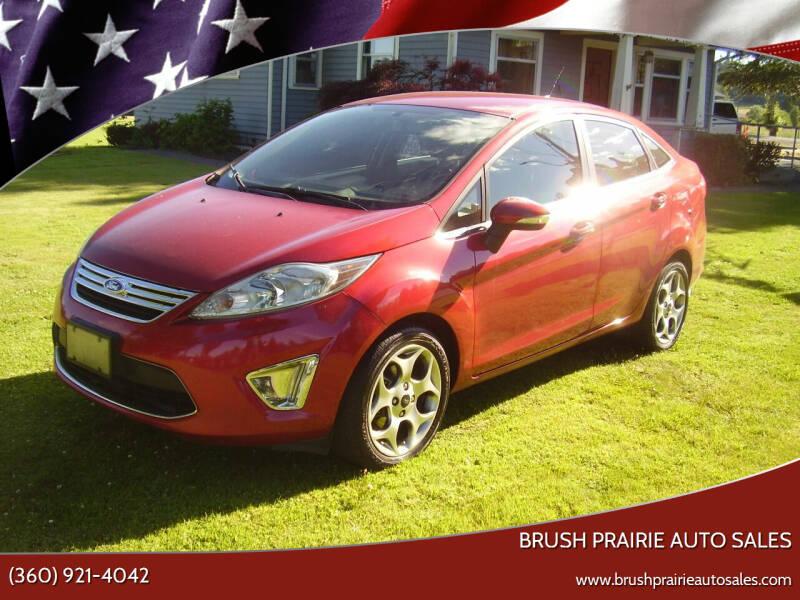 2011 Ford Fiesta for sale at Brush Prairie Auto Sales in Battle Ground WA