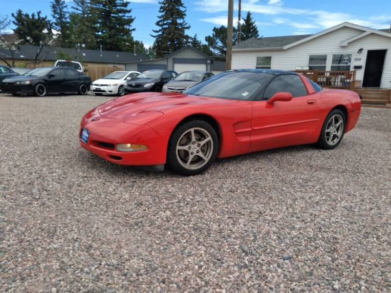 2002 Chevrolet Corvette for sale at DK Super Cars in Cheyenne WY