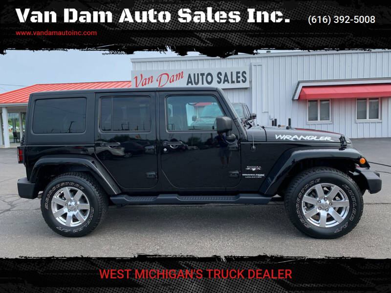 2018 Jeep Wrangler JK Unlimited for sale at Van Dam Auto Sales Inc. in Holland MI
