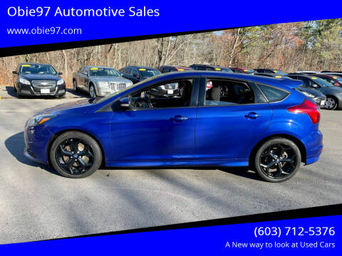 2014 Ford Focus for sale at Obie97 Automotive Sales in Londonderry NH