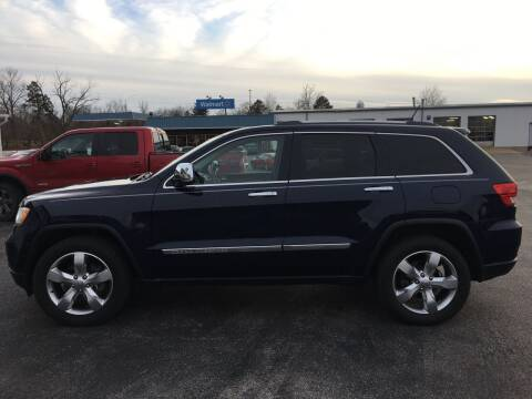 2012 Jeep Grand Cherokee for sale at Village Motors in Sullivan MO