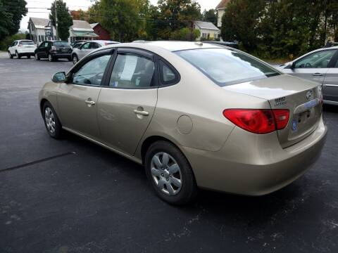 2008 Hyundai Elantra for sale at CURTIS AUTO SALES in Pittsford VT