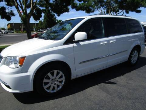 2015 Chrysler Town and Country for sale at KM MOTOR CARS in Modesto CA
