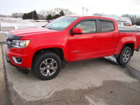 2017 Chevrolet Colorado for sale at Ditsworth Auto Sales in Bancroft IA